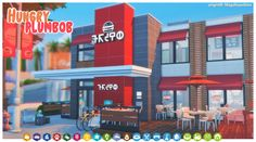 Hooba Noobie! : HUNGRY PLUMBOB FAST FOOD - Sims 4 Updates -♦- Sims 4 Finds & Sims 4 Must Haves -♦-
