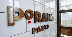 Porano Pasta identity by Atomicdust   Comm Arts