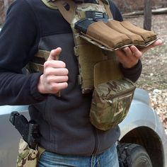 trexarmskydex:  So I recently got the @ferroconcepts Dangler pouch. It's made to affix underneath a plate carrier so you can keep your gear slim, but have extra equipment when needed. I have mine filled with Medical gear. It velcros underneath the front panel of the PC, and then the cummerbund velcros on top. It's a very convenient piece of gear, and can be added or removed from kit very easily. Check out @ferroconcepts. #ferroconcepts #medic #tccc #multicam #glock #ragnarokholster #cryejpc…