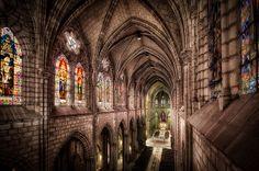 Interior Iglesia La Basilica, Quito Ecuador | Flickr: Intercambio de fotos