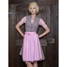 06e1e607ca7876 Vintage Baumwolldirndl Goldstich bordeaux creme geblümt 70cm -  Trachtenheimat German Fashion, Vintage Cotton, Bavaria