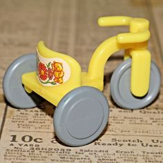 CALICO CRITTERS SYLVANIAN FAMILIES NURSERY TRICYCLE BIKE 1988 VINTAGE DOLLHOUSE #Epoch