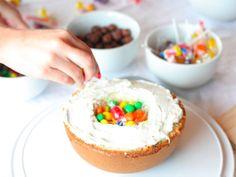 how to make a piñata cake