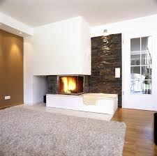 """Résultat de recherche d'images pour """"cheminée d'angle moderne"""" Angles, Herd, Images, Home Decor, Trendy Tree, Living Room, Search, Desk, Tiling"""