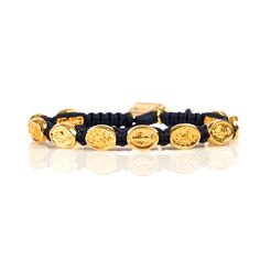 Miraculous Mary Blessing Bracelet -  Gold Medals #holymother #miraculousmary #blessingbracelet