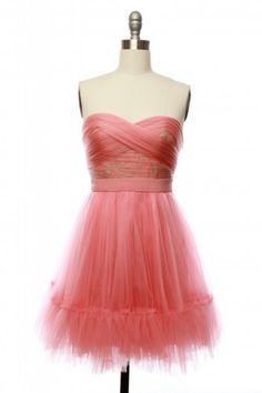 Cotton Candy Couture Dress