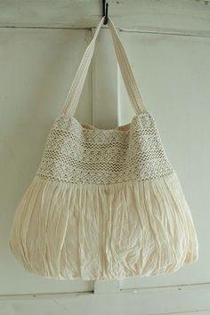 veerle Lankaショルダーバッグ - crochet
