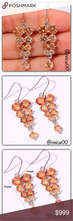 Coming Soon- Morganite Silver Filled Drop Earrings Details Soon!  *NO TRADES *Prices are FIRM-Listed at Lowest Price Unless BUNDLED! *Sales are Final-Please Read Descriptions! Boutique Jewelry Earrings