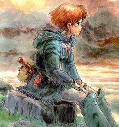 Nausicaä; Princess of the Valley of the Wind, ecologist.