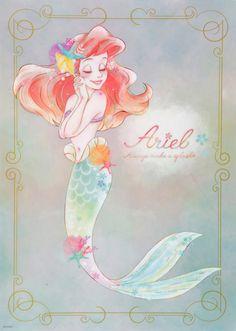 Arial, the little mermaid movie poster, disney art, Magical, colorful geek movie posters Disney Pixar, Disney Marvel, Disney Fan Art, Disney Animation, Disney Cartoons, Disney And Dreamworks, Disney Love, Disney Magic, Disney Characters