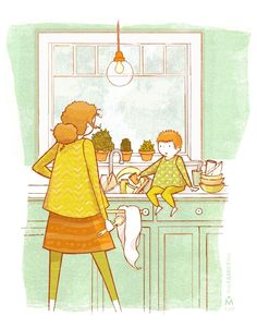 A Mother's Work... - theFAMILYlife