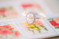 #Engagement Ring | Carly McCray Photography | See the wedding on SMP: http://www.StyleMePretty.com/2014/01/08/grand-geneva-resort-wedding/