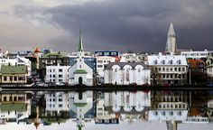 Reykjavik, Iceland. The European city that I'm most familiar with.