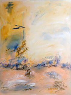 Reflections I -- Original Abstract Acrylic Painting