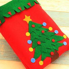Christmas Snowman Trees Decorations Non-woven Fabrics Stotage Bags