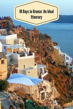 A 10-day itinerary in Greece from Athens to Santorini and then on to Mykonos.  This helps you manage your time at each locale and takes ferries into account.