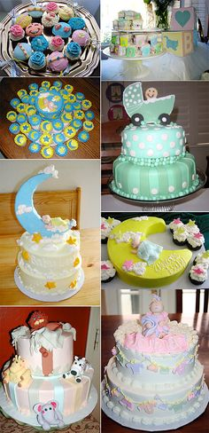 Girl Baby Shower Themes | ... the pooh baby duckies and ladybugs and baby wagons bottles and booties