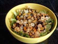 Diário da Nocas: Salada do mar ao molho de iogurte com ervas