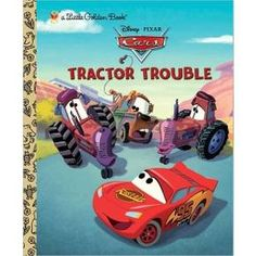 Tractor Trouble (Disney/Pixar Cars) (Little Golden Book) (Hardcover) : Target