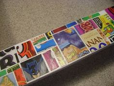 Cereal Box Mosaic Frame
