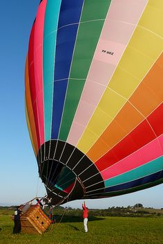 Hot-air balloon ride- this is on my bucket list!