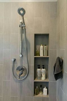Shelf Space Ideas for the Shower