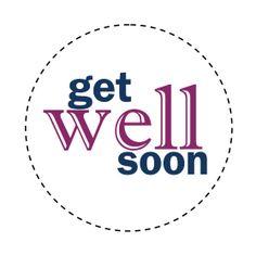 Get well soon sentiment