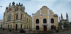 Welcome to Satu-Mare, Romania :cheers: Synagogue ^^ ^^ My Town, True Beauty, Notre Dame, Cheers, Spaces, Mansions, Country, House Styles, Building