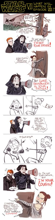 Confesions with Kylo Ren and Rey ¿Skywalker? By Phobs #StarWars #Phobs