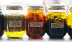 Six Ways to make Herb Infused Oil for Skincare and Salves