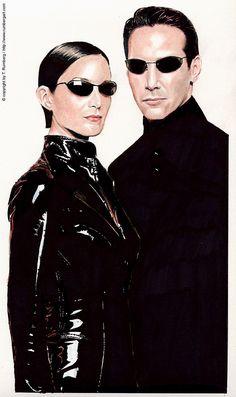 Neo & Trinity - The Matrix - Thomas Rumberg