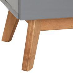 Lowboard TIBOR Kiefer massiv in grau - mobilia24 Kiefer, Montage, Outdoor Decor, Home Decor, Customer Support, Nordic Style, Tv Cupboard, Tv Units, Scandinavian Design