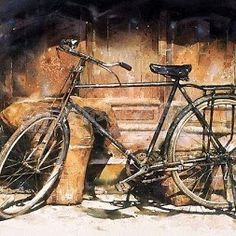 Watercolor by (Hsieh) Xie Ming Chang 謝明錩 .Taiwan
