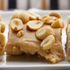 Yum... I'd Pinch That! | Salted Nut Squares