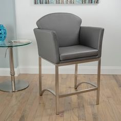 Shop for Brushed Stainless Steel 26-inch Counter Height Stationary Bar Stool. Get free shipping at Overstock.com - Your Online Furniture Outlet Store! Get 5% in rewards with Club O!
