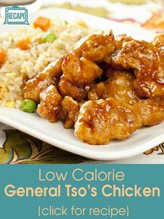 Though a Chinese food takeout version of General Tso's Chicken can have up to 1300 calories, Daphne Oz made her lighter recipe with just 550 calories.