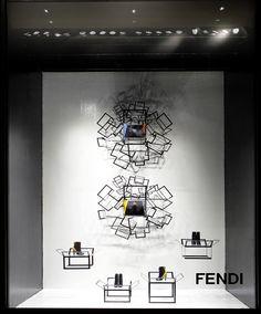 FENDI FW 12-13 Windows @ LaRinascente Milan