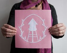 DIY Project: Cut Paper Memento #greenpoint #diy #gifts
