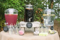 DIY Backyard Wedding | Visit thelovelyfind.com