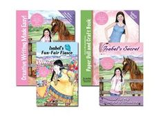 "MOST POPULAR BUNDLE! Horse Lovers Writing Curriculum with Paper Dolls!!! ""This rocked our world and turned writin time into a delight!"" A.B. 12 lessons teaching how to create characters, settings, and plots.How to honor God in your Writing. Learn about the golden rule of writing, ""show don't tell"" New Millennium Girl Books -"