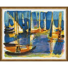 Newest Collections : Boats in the Harbor