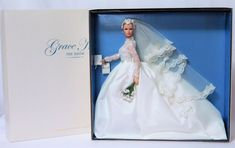 Rare GRACE KELLY THE BRIDE 2011 SILKSTONE Barbie Gold Label BFMC Doll_T7942_NRFB #Mattel #Dolls