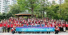 추석을 앞두고 거제 하나님의교회(안상홍님) 고현동 환경정화 봉사활동