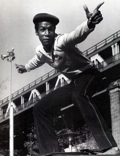 """Grandmaster Flash  """"Say up jump the boogie to the bang bang boogie.  Let's rock, you don't stop""""  full stop!"""