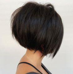 Medium Stacked Haircuts, Short Angled Bobs, Inverted Bob Haircuts, Stacked Bob Hairstyles, Bob Haircuts For Women, Short Bob Haircuts, Stacked Bobs, Layered Inverted Bob, Short Hair Cuts For Women Bob