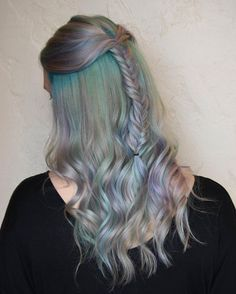 opalescent hair color