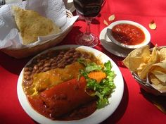 Rancho de Chimayo Restaurante, Chimayo: 2. ... Go for sopapillas prickly pear lemonade carne adovada flan shrimp enchiladas stuffed sopapilla red chili pork trout beans taco salad steak high road to Taos