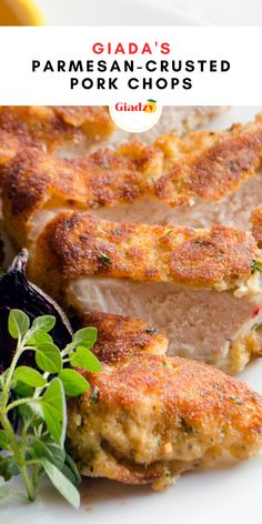 These parmesan-crusted pork chops are a super savory and delicious weeknight dinner. The pork chops are coated in grated parmesan and Italian breadcrumbs, which makes them extra crispy. Topped with a little bit of black pepper and lemon juice for brightness, the flavors are perfectly balanced. And it all comes together in under 30 minutes!