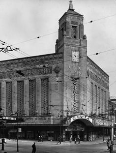 Civic Theatre in Auckland, 1940s. Often went to the movies her as a child used to love listening to the Wurlitzer Organ that was played at intermission. If I & my friends spent our return tram fare money we could have extra sweets or an ice cream. We would then walk home through the domain around 4:30 to 5:00. Would not dare let a child walk through ther by themselves these days