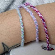 Bracelet de l'amitié kumihimo coton couleur au choix Bracelets, Creations, Boutique, Articles, Etsy, Jewelry, Unique Jewelry, Handmade, Cotton